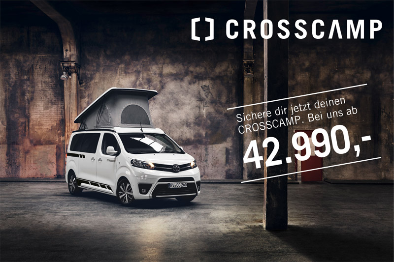 Crosscamp ab 42.990 Euro